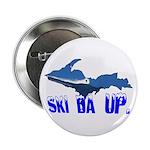 "Ski Da UP 2.25"" Button (10 pack)"