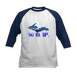 Ski Da UP - Big Air Ski Wear - Kid Baseball Jersey