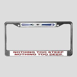 Big Air Ski Wear - Nothing 2 - License Plate Frame