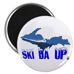 "Ski Da UP 2.25"" Magnet (10 pack)"