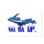 Ski Da UP Postcards (Package of 8)
