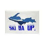 Ski Da UP Rectangle Magnet (100 pack)