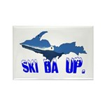 Ski Da UP Rectangle Magnet (10 pack)