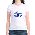 Ski Da UP Jr. Ringer T-Shirt