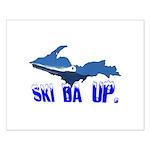 Ski Da UP Small Poster