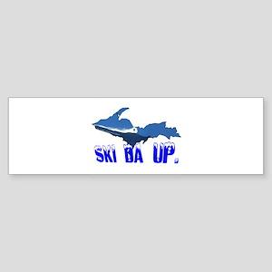 Ski Da UP Bumper Sticker