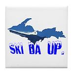 Ski Da UP Tile Coaster