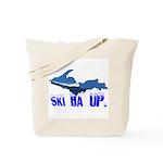 Ski Da UP Tote Bag