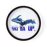 It's always time to ... Ski Da UP. - Wall Clock