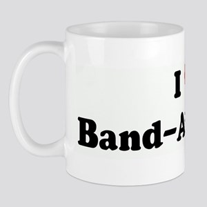 I Love Band-Aid Pants Mug
