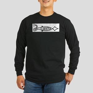 Tully Monster Long Sleeve Dark T-Shirt