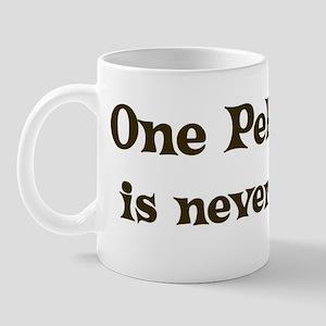 One Pekingese Mug