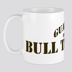 Bull Terrier: Guarded by Mug