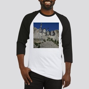 Native Mt. Rushmore Baseball Jersey