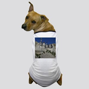 Native Mt. Rushmore Dog T-Shirt
