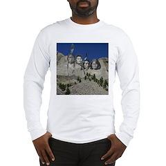 Native Mt. Rushmore Long Sleeve T-Shirt