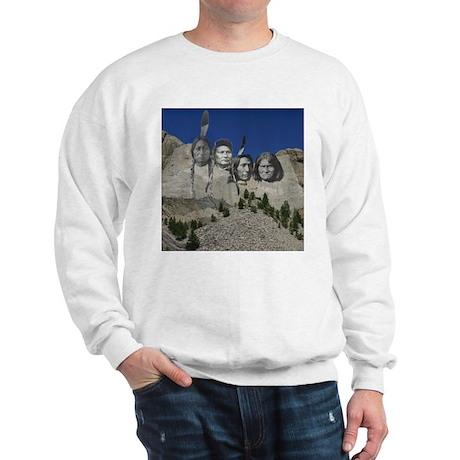 Native Mt. Rushmore Sweatshirt