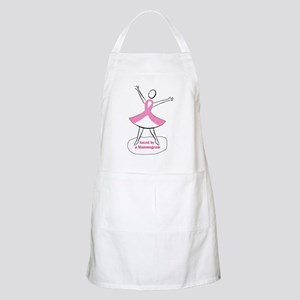 Saved by a Mammogram Apron