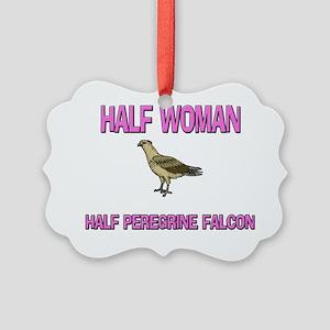 PEREGRINE-FALCON16130 Picture Ornament
