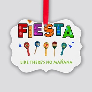 Spanish Party Picture Ornament