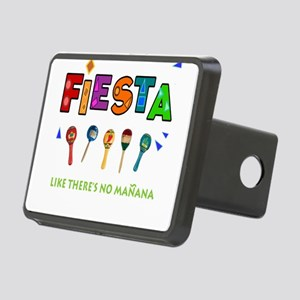 Spanish Party Rectangular Hitch Cover