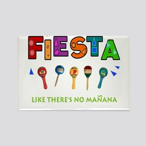 Spanish Party Rectangle Magnet