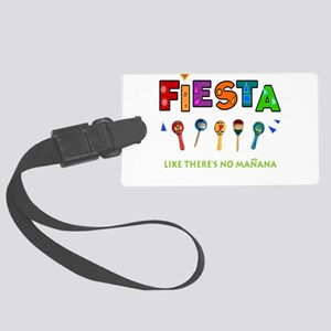 Spanish Party Large Luggage Tag