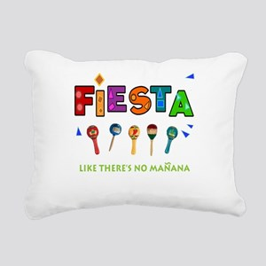 Spanish Party Rectangular Canvas Pillow