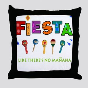 Spanish Party Throw Pillow