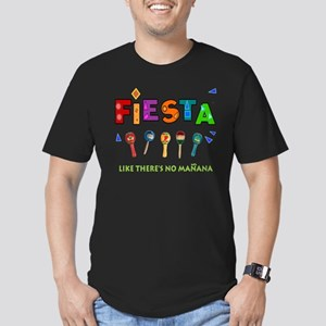 Spanish Party Men's Fitted T-Shirt (dark)