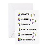 AUTISM Greeting Cards (Pk of 10)