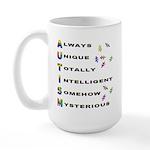 AUTISM Large Mug