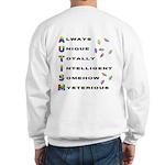 AUTISM (BackDesign) Sweatshirt