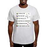 AUTISM Ash Grey T-Shirt