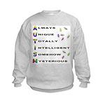 AUTISM Kids Sweatshirt