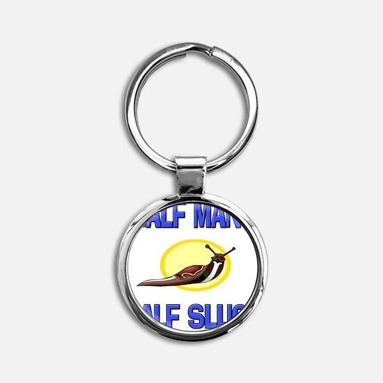 SLUG13866 Round Keychain