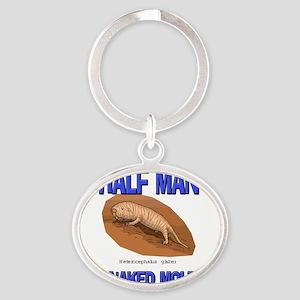 NAKED-MOLE-RAT88157 Oval Keychain