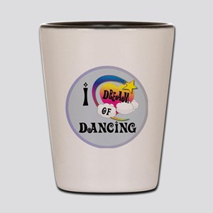 I Dream of Dancing Shot Glass