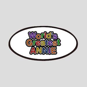 World's Greatest Annie Patch