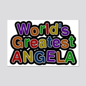 World's Greatest Angela Mini Poster Print
