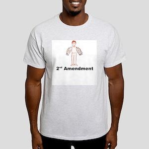 2nd Amendment Ash Grey T-Shirt