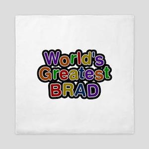 World's Greatest Brad Queen Duvet
