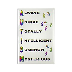 AUTISM Rectangle Magnet (100 pack)