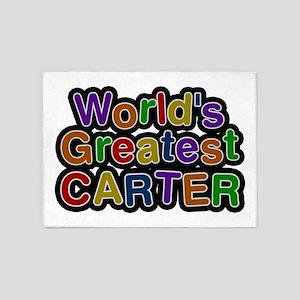 World's Greatest Carter 5'x7' Area Rug