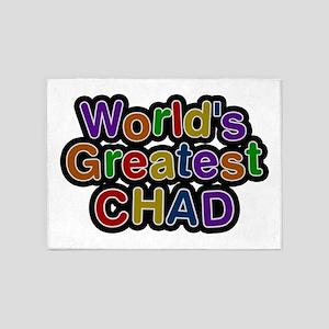 World's Greatest Chad 5'x7' Area Rug
