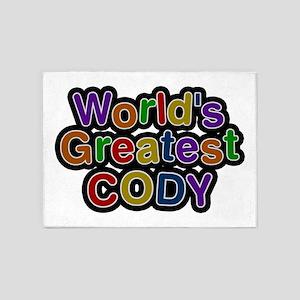 World's Greatest Cody 5'x7' Area Rug