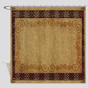 WESTERN PILLOW 1 Shower Curtain