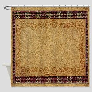 WESTERN PILLOW 1 Shower Curtain