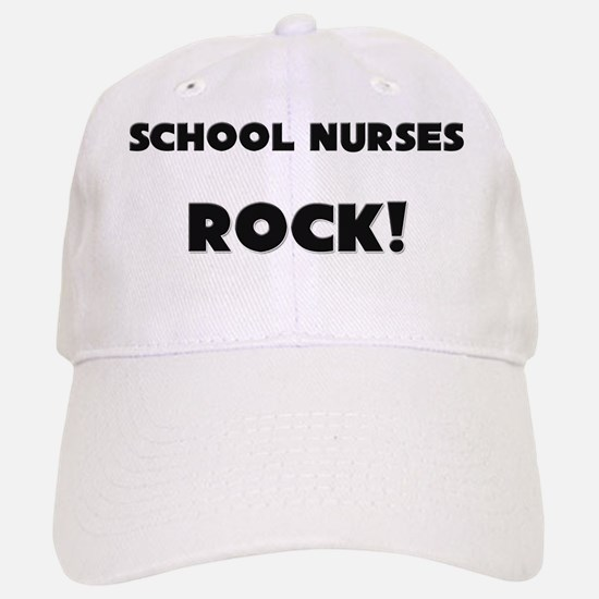 SCHOOL-NURSES33 Baseball Baseball Cap