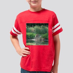 Tote Buck reflecw- fairy Youth Football Shirt